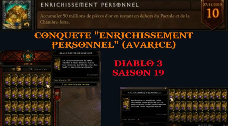 Diablo3-Guide Conquete! Comment faire facilement Enrichissement Personnel