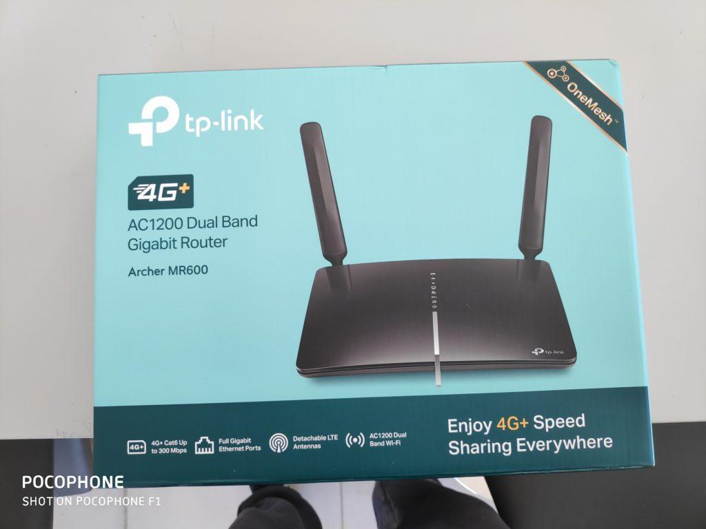 meilleur routeur 4g boite
