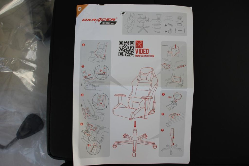 chaise DXRacer 07