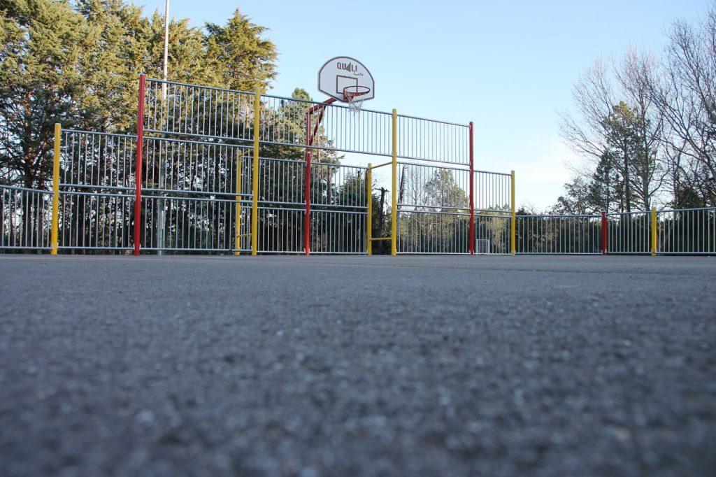 ST PAUL BASKETBALL PLAYGROUND